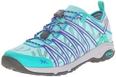 Chaco Womens Outcross Evo 15 Sports Shoe Aqua 95 M US ** Continue to the product at the image link.