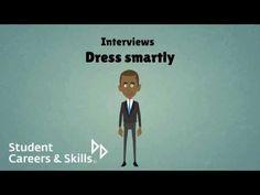 Interviews: Dress smartly http://www.youtube.com/watch?v=LYBrBdOE8SA