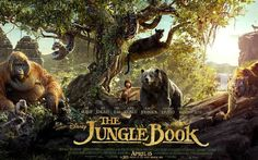 If you're watching Super Bowl 50 on CBS, then you've seen the new trailer for Disney's The Jungle Book. This live-action, adventure film will be released in Real D and IMAX o… The Jungle Book, Jungle Book Hindi, Jungle Book 2016, Jungle Jungle, Jungle Snacks, Mogli Jungle Book, Live Action, Action Film, Action Movies