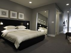 Master bedroom idea -- simple