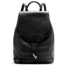 Rag & Bone Pilot Leather Backpack (25.820 UYU) ❤ liked on Polyvore featuring bags, backpacks, black, bolsas, accessories, rucksack bags, leather backpacks, leather backpack bag, knapsack bag and backpack bags