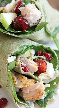 Turkey Cranberry Wrap