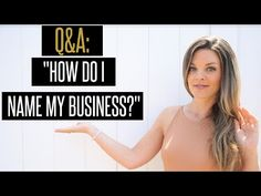 How to Choose the Best Business Name - YouTube + Social Media Tutorials