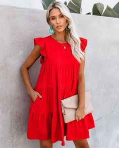 Shop our amazing collection of statement pieces, clothing, handbags & accessories. Dress Outfits, Casual Dresses, Fashion Dresses, Dress Up, Cute Outfits, Babydoll Dress Outfit, Beauty And Fashion, Womens Fashion, Summer Outfits
