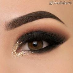 Make-up ideas Make-up ideas Makeup Eye Looks, Smokey Eye Makeup, Eyeshadow Makeup, Beauty Makeup, Denitslava Makeup, Makeup Style, Eyeliner, Makeup Trends, Makeup Inspo