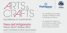 #arts&crafts #mostra #artigianato #Pistoia  conferenza stampa ad #Artex http://omaventiquaranta.blogspot.it/2013/10/pistoia-arts-conferenza-stampa-ad-artex.html