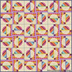 (7) Name: 'Quilting : Quilt Extravaganza: Block of the Month 3