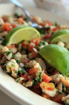 Ceviche de pescado (fish ceviche) https://myyearwithchris.wordpress.com/2014/11/13/ceviche/                                                                                                                                                     More