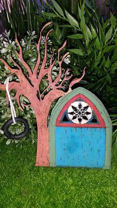 Fairy Door, Fairy Garden, Fairy House, Fairy Accessories, Fairy Miniature,  Whimsical, Whimsy, Faery Door, Faery Garden, Faery Accessories