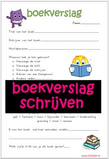 Juf Inger: Boekverslag