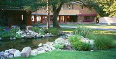 Frank Lloyd Wright's Estate on the Lake-Become a Part of Graycliff