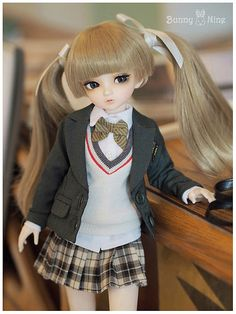 [Nine9style] Nine9doll Bunny nine Maple-A | by Nine9 Style