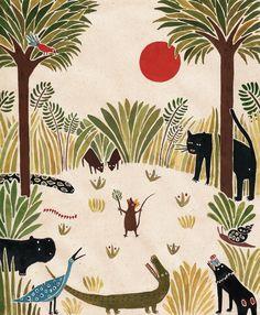 LARA HAWTHORNE - Illustrator