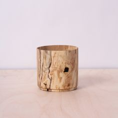 Ash and Spalted Birch Pots — FOREST-AND-FOUND