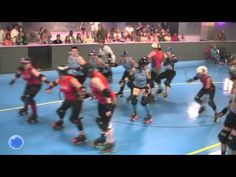 Skate of the Art Roller Derby: North River Rolling Renegades vs Lakeland Derby Dames -hardhits