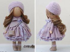 Nursery doll Tilda doll Textile doll Handmade por AnnKirillartPlace