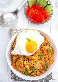 Indonesian Fried Rice (Nasi Goreng)   Video