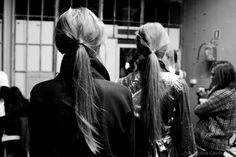 Warsaw Fashion Weekend 2013 BACKSTAGE by Paulina Gawliczek, via Behance