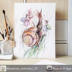 Repost from @katerina_mihailina_07 - Done #misha_illustration#illustration#watercolor#watercolour#aquarelle#waterblog#art#artist#art_we_inspire#topcreator#botanical#botanicalart#drawing#painting#watercolorpainting# #رسم #رسمتي #رسامين_عرب #رسم_بالرصاص #كلنا_رسامين #الوان