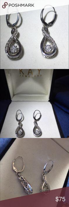 💎Diamonds In Rhythm Sterling Silver Earrings