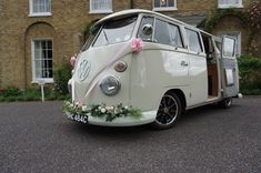 Hire our wedding camper Georgie in Kent, Essex, Surrey, London and beyond.
