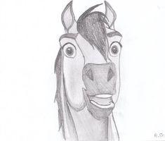 Spirit Stallion 7 by alvija Disney Character Drawings, Disney Drawings, Cartoon Drawings, Easy Drawings, Drawing Sketches, Spirit The Horse, Spirit And Rain, Horse Drawings, Animal Drawings