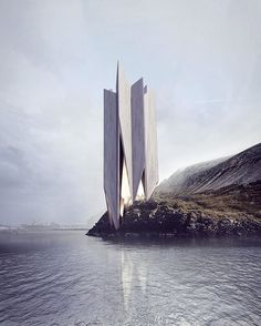 #architecture_hunter  I really don't know how is it possible for a single person to be so creative! Concept 217, by Roman Vlasov @_vlasov_roman_