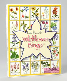 Take a look at this Wildflower Bingo Game by Lucy Hammett Games on #zulily…