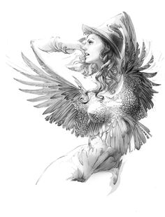 line sketch 3 by zhang weber, via Behance Pencil Drawing Images, Drawing Sketches, Art Drawings, Fantasy Drawings, Fantasy Art, Line Sketch, Sketch Inspiration, Pen Art, Portrait Illustration