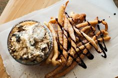 Funnel Cake Fries wi...