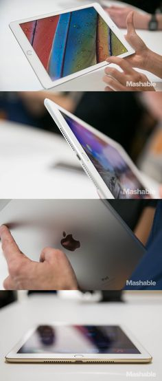 The Apple iPad Air 2: thinner and lighter and better than ever! So capable, you won't want to put it down. So thin and light, you won't have to.
