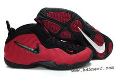 Nike Air Foamposite Red Black - Penny Hardaway Shoes Discount