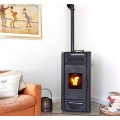 De K-Stove 8012 is een hydro #pelletkachel wat inhoudt dat u deze kunt aansluiten op uw CV, en verwarmt ruimtes tot een oppervlakte van 110m² tot 120m². De K-Stove 8012 heeft een vermogen van 3.6 tot 12 kW. Standaard wordt deze pelletkachel ook uitgevoerd met een afstandsbediening voor optimaal gebruiksgemak. #Fireplace #Fireplaces