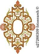 Brown and green Design Ornament