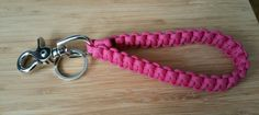 Paracord Key Wristlet Fob Keychain Lanyard Custome color choices by Knotability