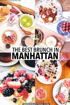 Best brunch in NYC: Your insider guide to 8 great brunch places in lower Manhattan - - Seeking the best brunch in New York City? Read about the best NYC brunch spots in Manhattan in this guide to the best brunch spots in lower Manhattan. Lower Manhattan, Manhattan New York, Breakfast And Brunch, Brunch Nyc, Best Breakfast, Brunch New York, New York City Vacation, New York City Travel, Vacation List