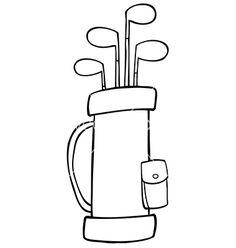 golfer golf ball clip art invitational pinterest clip art rh pinterest com golf club bag clipart golf bag clip art images