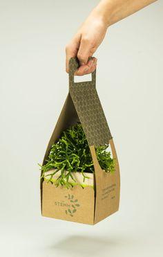 Embalagem Vegetable Packaging, Fruit Packaging, Candle Packaging, Flower Packaging, Food Packaging Design, Packaging Design Inspiration, Box Packaging, Plant Projects, Garden Shop