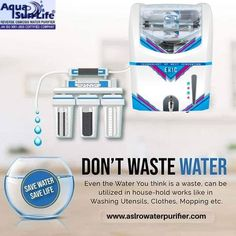 ASL Enterprises is one of the leading RO Water Purifier Manufacturers in Gurgaon, Gurugram, Haryana. Water means life and it needs to be pure for ensuring good health and safe processing of products. 📲: +91- 9818406309 🌐: www.aslrowaterpurifier.com 📧: aslenterprises35@gmail.com #ROWaterPurifier #WaterPurifier #BrandedRO #Kent #LivpureRO #AquaguardRO #AslEnterprises Kent Ro Water Purifier, Ro Purifier, Save Water Save Life, Importance Of Water, Reverse Osmosis Water, Website Design Company, Household, Utensils, Technology