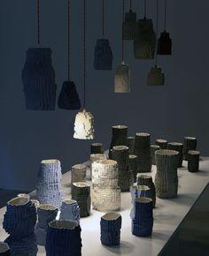 Pixel Vases Landscape by Julian F. Bond  ---beautiful