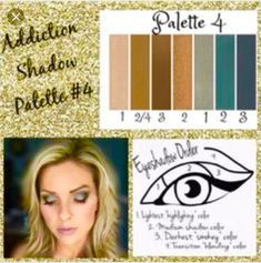 Makeup Idea 2018 Palette with Eyeshadow Order Guide! Take it from serene to extreme with seven crease-resistant, fade-resistant, long-wearing, buildable colors! Now available in 5 amazing color palettes! Younique Eyeshadow Palette, Makeup Younique, Makeup Tips, Eye Makeup, Makeup Art, Makeup Ideas, Beauty Makeup, Hair Makeup, Eye Color Chart
