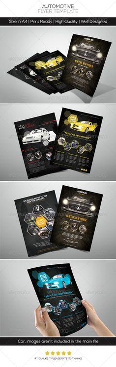 Premium Automotive Flyers