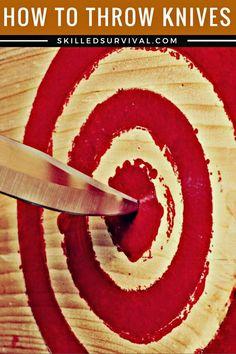 How To Throw Knives For Survival #bugoutbag #prepper #shtf