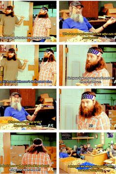 Duck dynasty hahaha! Si is by far the best one of the bunch