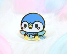 [PIN] Piplup – o. Pokemon Mew, Pokemon Pins, Cute Pokemon, Pin And Patches, Iron On Patches, Holographic Foil, Artist Alley, Collectible Cards, Acrylic Charms