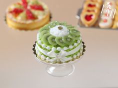 Kiwi Fruit Gateau♡♡ By ParisMiniatures
