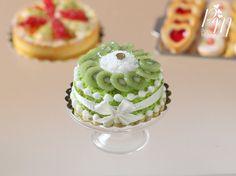 Kiwi Fruit Gateau♡ ♡ By ParisMiniatures
