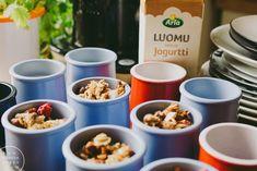 Banaanigranola Banana Granola, Summer Recipes, Cereal, Food And Drink, Breakfast, Foods, Drinks, Food Food, Drinking