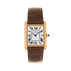 """Worn by Louis Cartier himself, the """"Tank Louis Cartier"""" watch sets the standard for all Tank watches. - watches, marc jacobs, cool, hublot, cool, seiko watch *ad"""