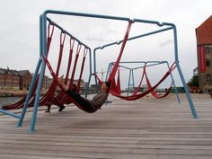 Swingsets and Urban Placemaking  #Sustainable #Cities Collective / Gezide de olmalı..